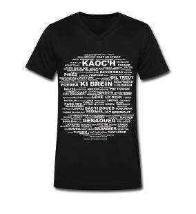 T Shirt 150 jurons bretons   150 breton swearwords www.domduff.com/boutik.html #breizh #merch #tee