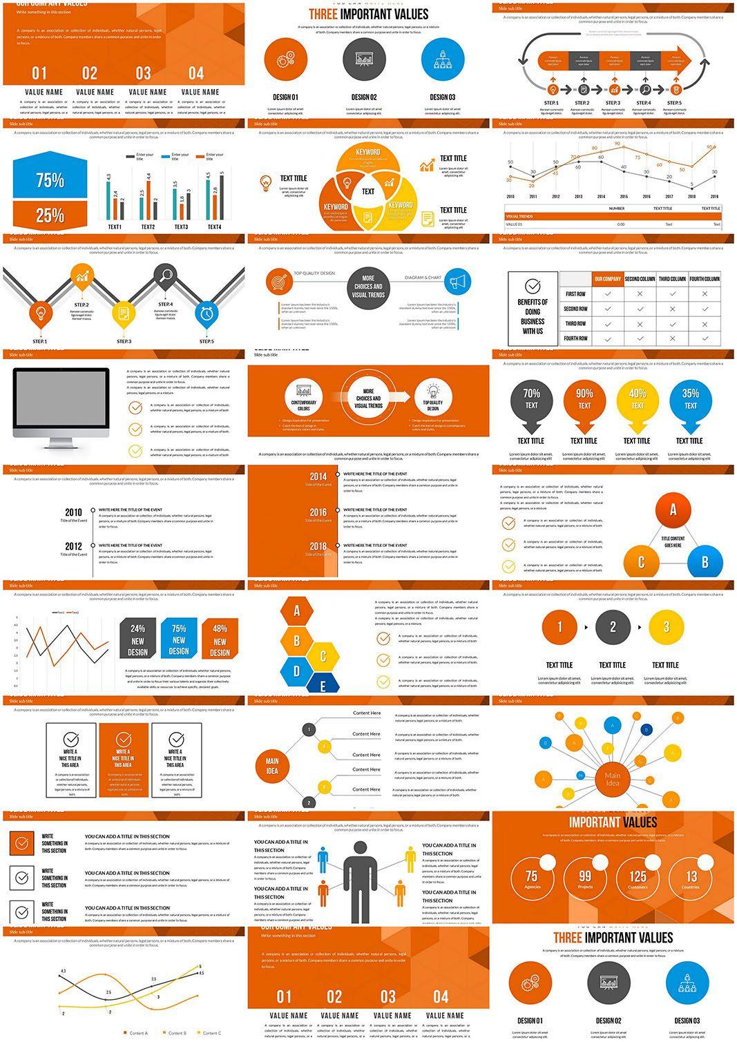 Interrelation Powerpoint Charts Powerpoint Charts Powerpoint