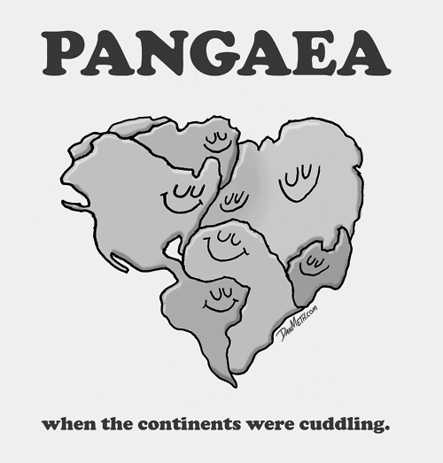 cuddling continents <3