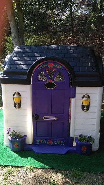 New Painted Little Tikes Playhouse