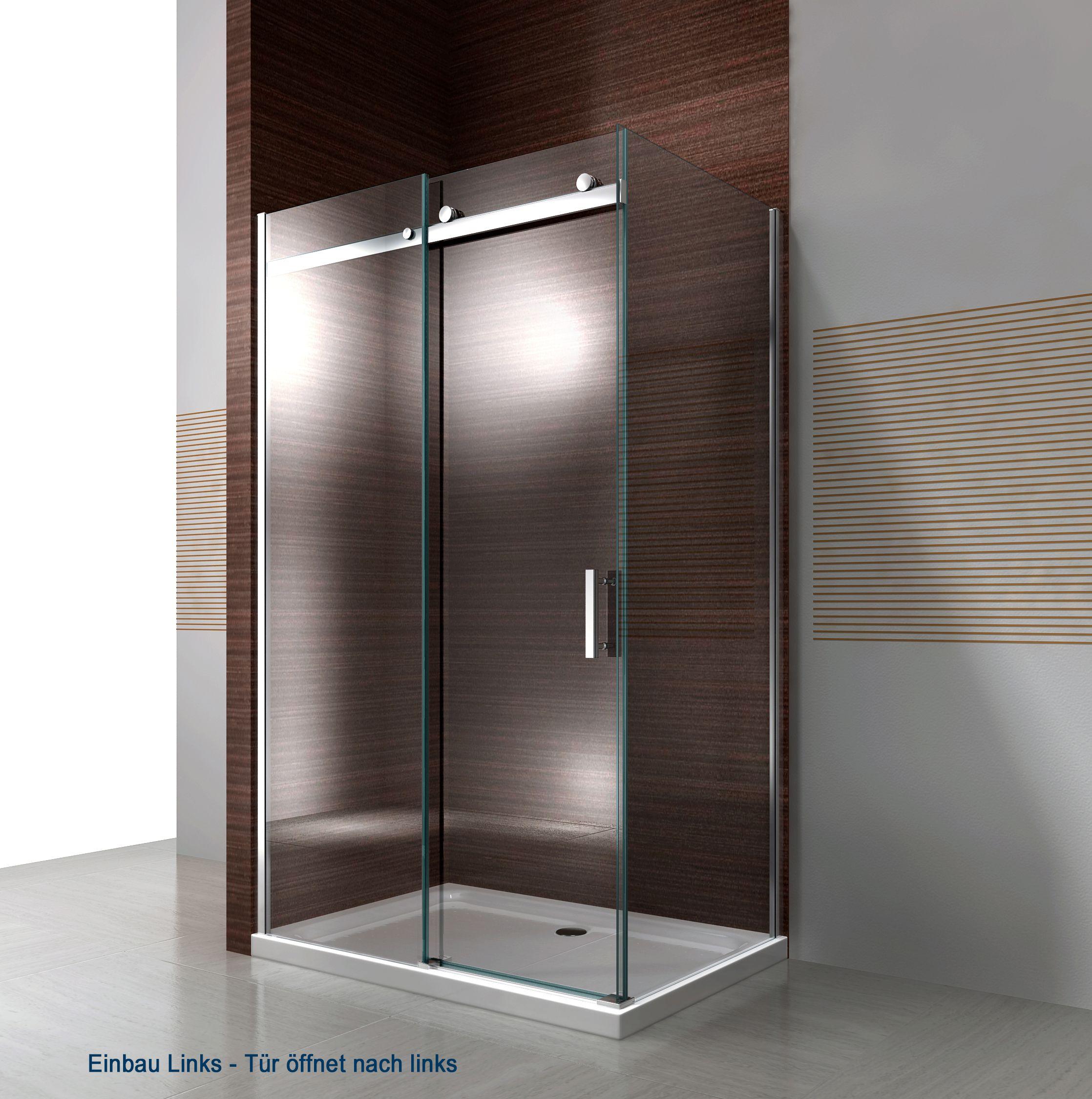 Duschkabine EX806 Einbau Links in 2020 Eckduschen
