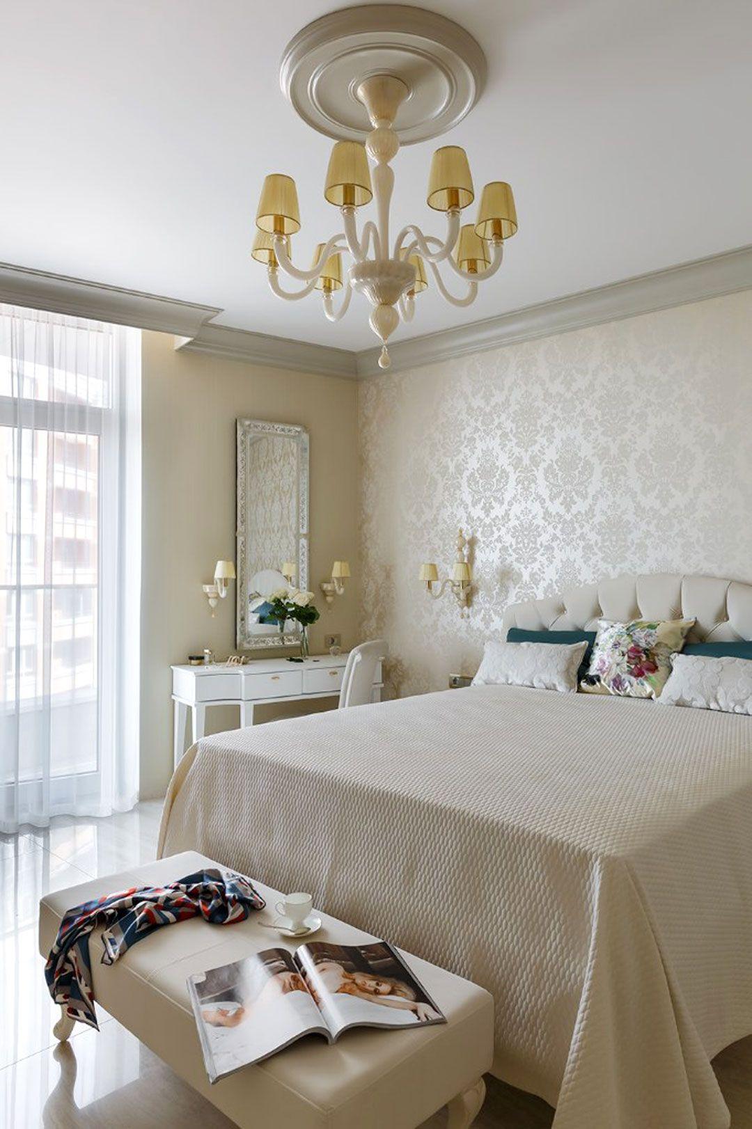 Lampadario per camera da letto in appartamento di design a S ...