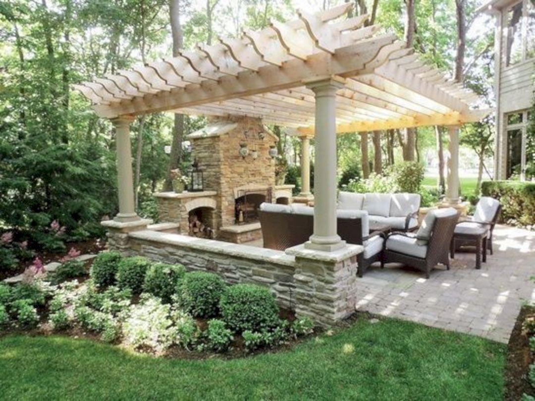 89 Incredible Outdoor Kitchen Design Ideas That Most Inspired 042 Outdoorideaspool Backyard Patio Backyard Pergola