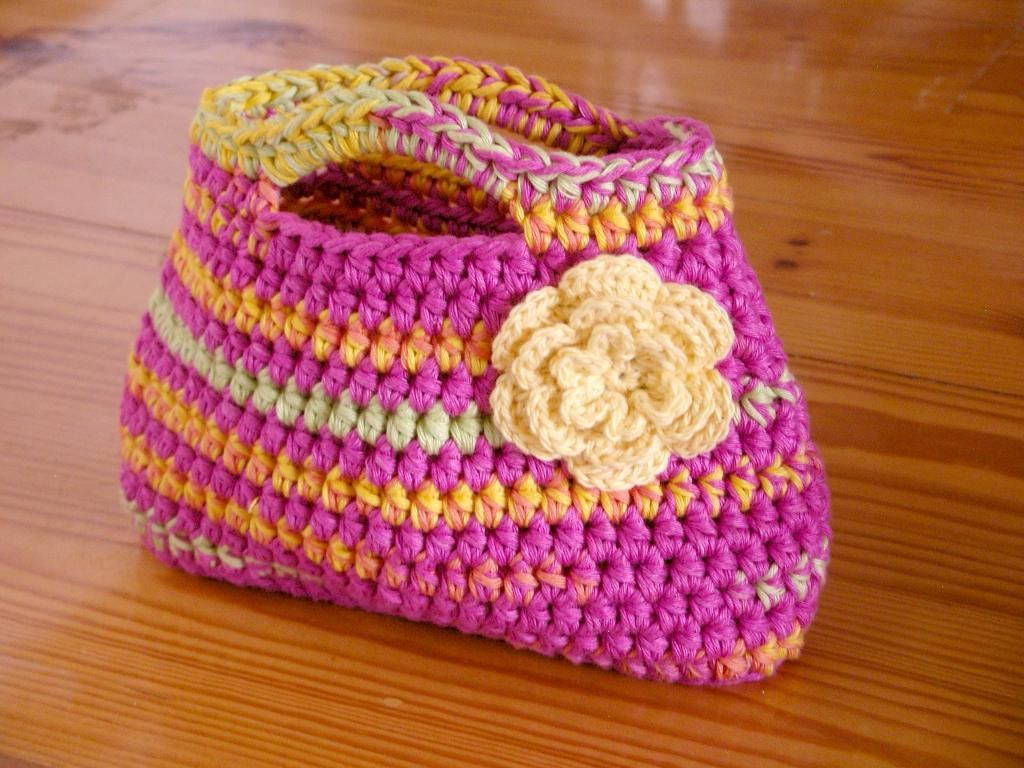 Easy peasy little bag for kids easy peasy easter and for Crochet crafts for kids