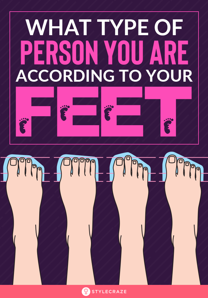 What Type Of Person You Are According To Your Feet