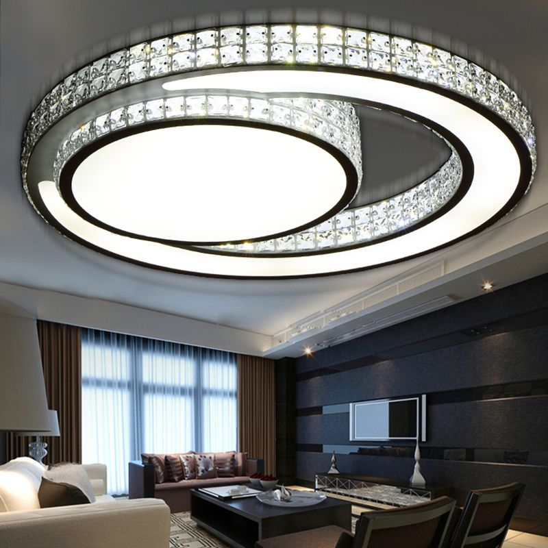 Latest [Free Shipping] Buy Best Hot crystal modern led ceiling lights for Modern - Awesome bedroom ceiling light fixtures Contemporary