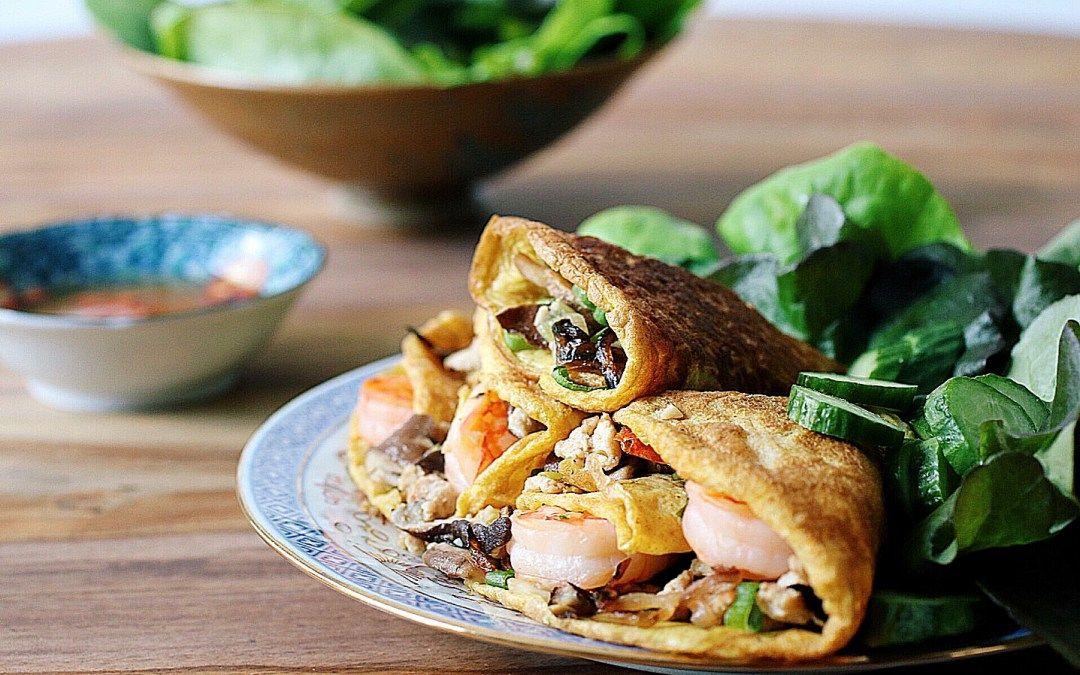 Paleo Vietnamese Aromatic Egg Wraps Recipe Egg Wrap Food Asian Recipes