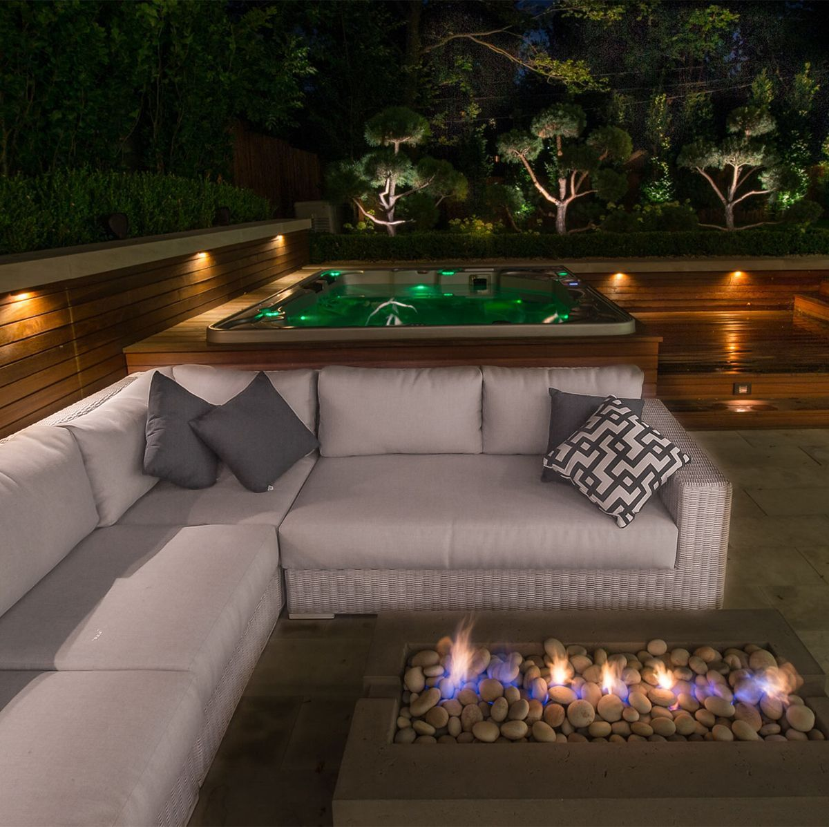 Add some outdoor lig