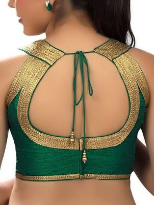 55 Trendy Blouse Back Neck Designs With Borders For Sarees Trendy Blouse Designs Fashion Blouse Design Stylish Blouse Design