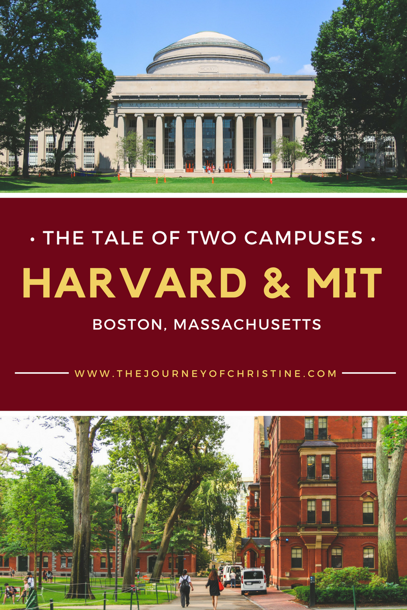 The Tale Of Two Campuses Harvard And Mit Boston Massachusetts Boston University Campus Harvard University Campus Massachusetts Institute Of Technology