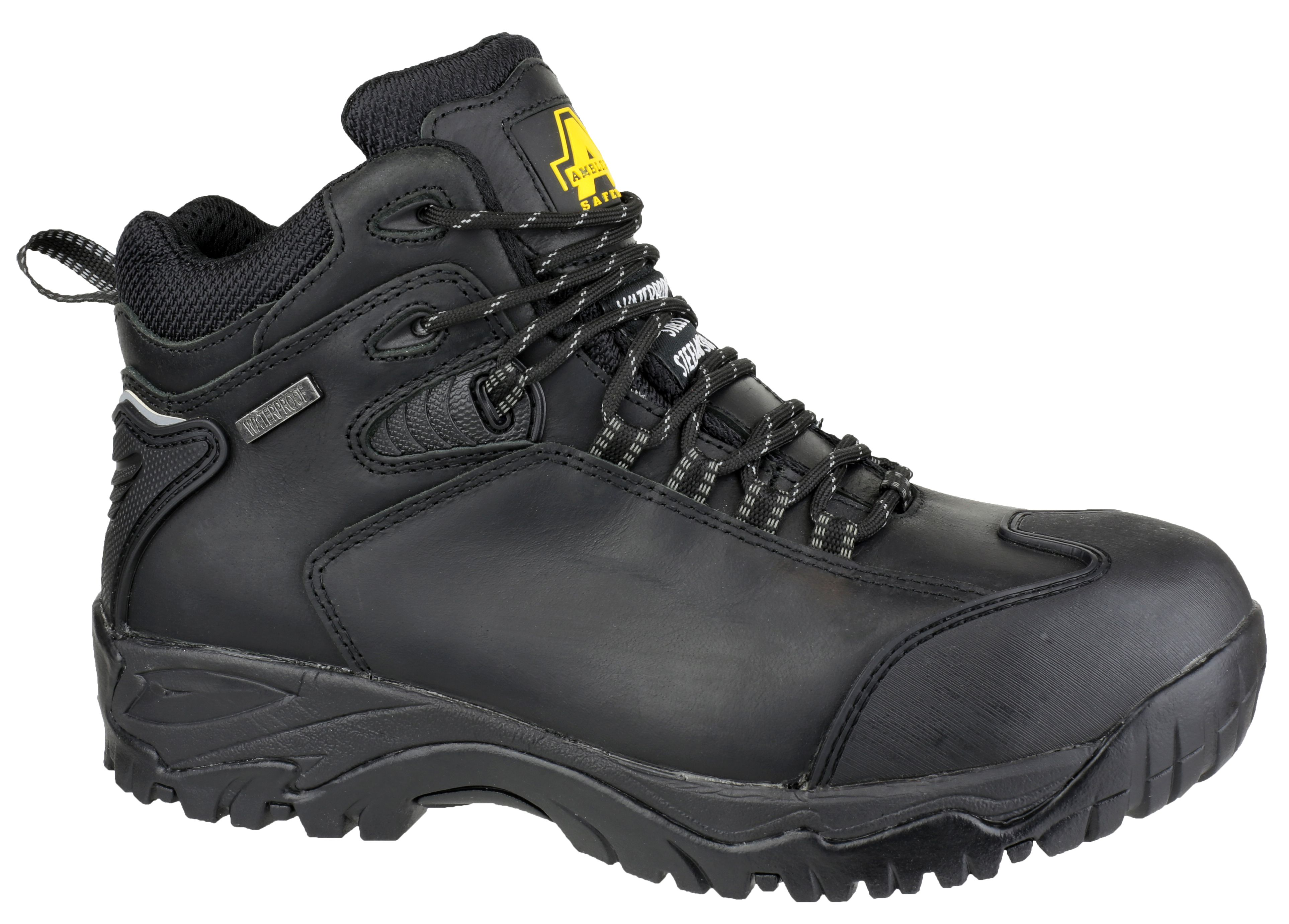 Amblers Safety FS190 Black - Chaussures Boot Homme