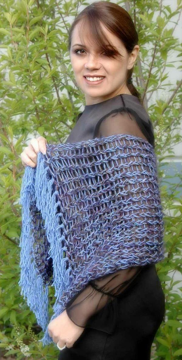15 DIY Free Crochet Shawl Patterns | Patrones | Pinterest | Patrones ...