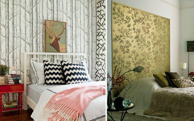 Decofilia blog decoraci n con cabeceros papel pintado - Cabeceros de cama originales pintados ...