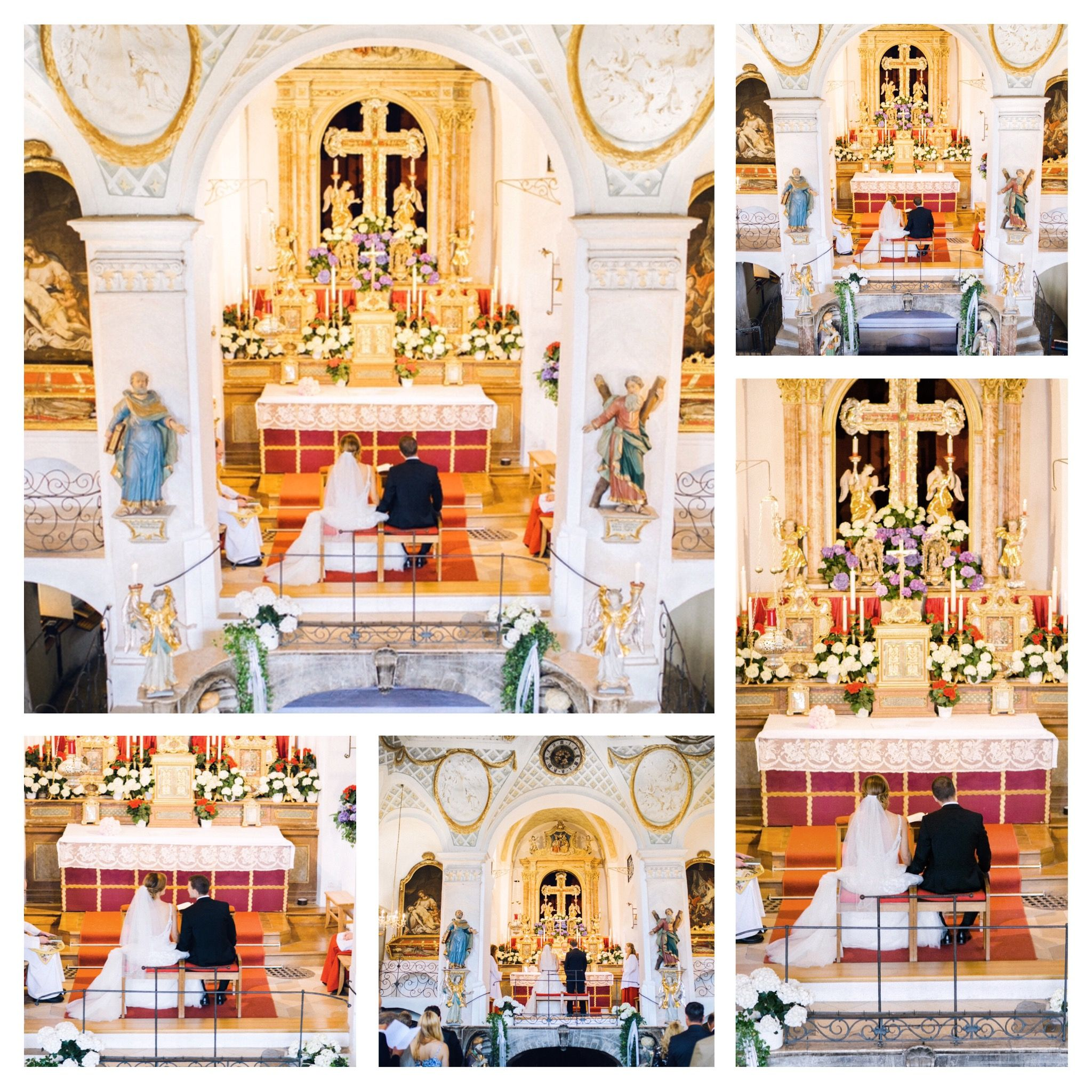 Hochzeit Sandra & Martin Kalvarienbergkirche Bad Tölz kirchliche