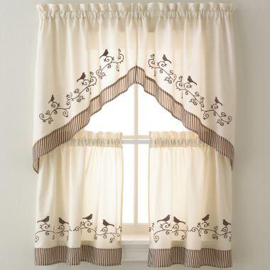 Birds Kitchen Curtains found at @JCPenney | Kitchen curtains ...