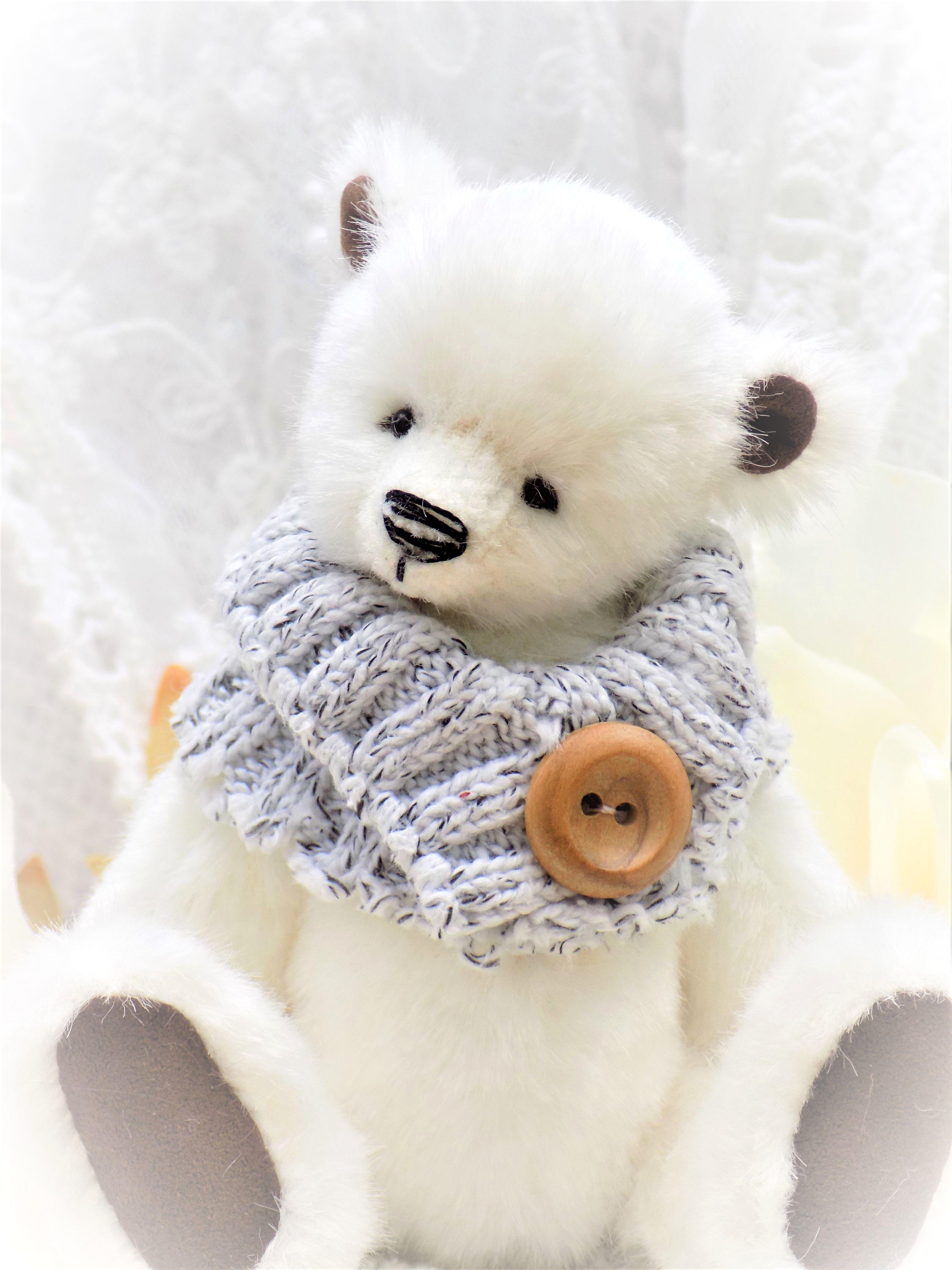 hand sewn artist bear For kids