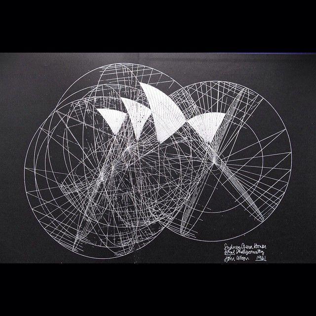When Did Geometry Tattoos Start: Sydney Opera House. Shell Geometry.