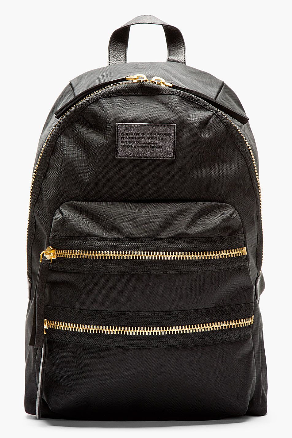 3bcf318d80f Marc By Marc Jacobs Black And Gold Domo Arigato Packrat Backpack ...