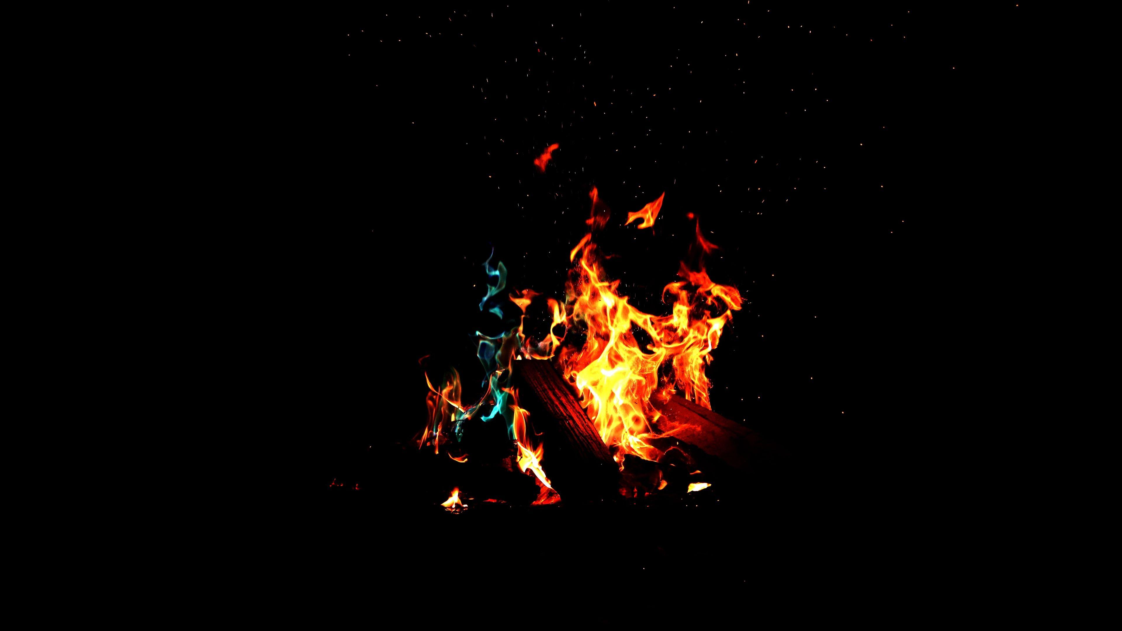 Fire Flame Dark 4k Flame Fire Dark In 2020 Black Wallpaper Red Wallpaper Low Light Photography