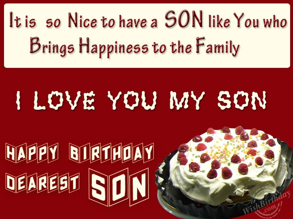 Superb Happy Birthday Son Images Birthday Wishes For Son Birthday Funny Birthday Cards Online Bapapcheapnameinfo