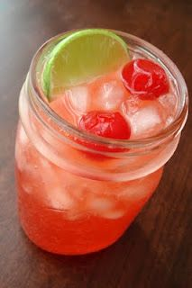 Homemade Cherry Limeade ~ another possibility