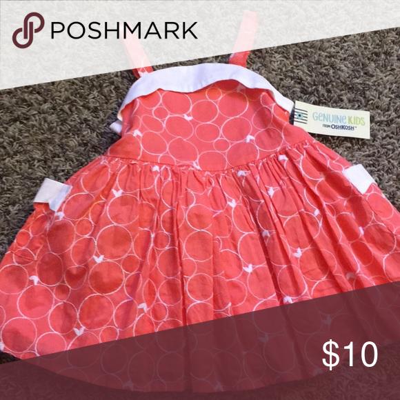 Coral Dress Cute lil summer dress. Osh Kosh Dresses Casual