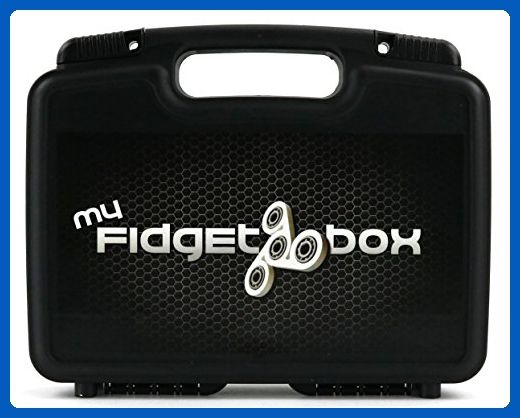 "Hard Storage Carrying Case For Fid Spinner Box 12"" Holds 17"