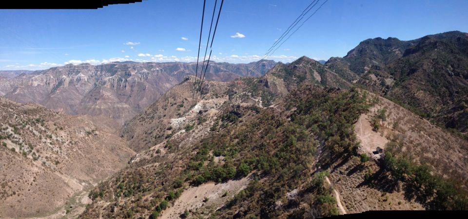 Teleferico Barrancas Del Cobre en Chihuahua