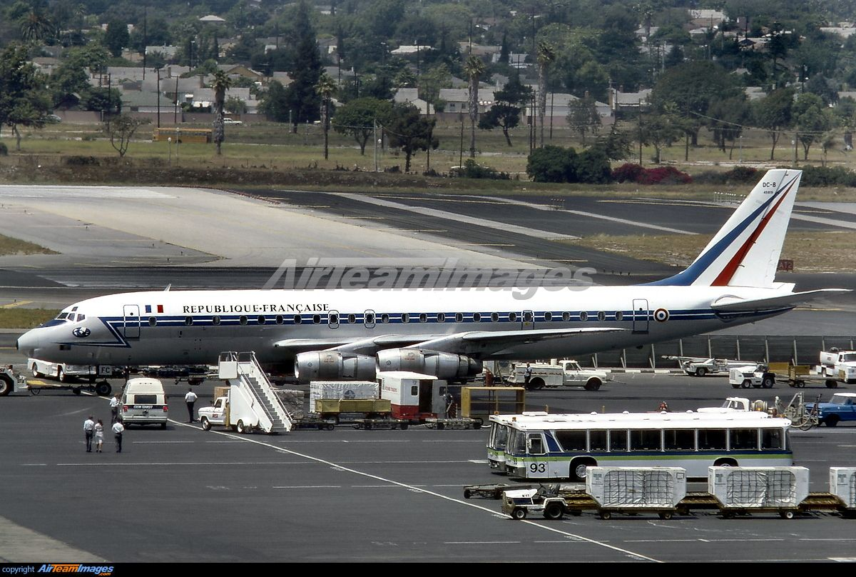 France - French Air Force Douglas DC-8-55CF Jet Trader