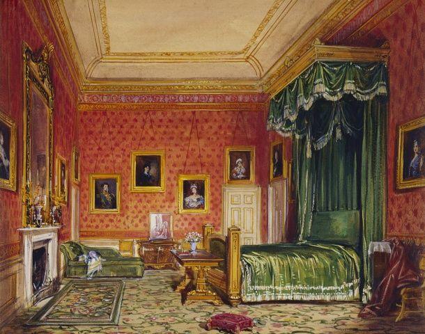 Queen Victoria Windsor Castle, Queen Victoria Bed
