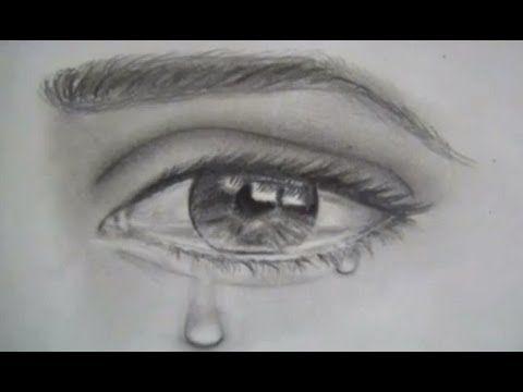 Como Dibujar Ojos Y Lagrimas X2f Dibujar Un Ojo Realista