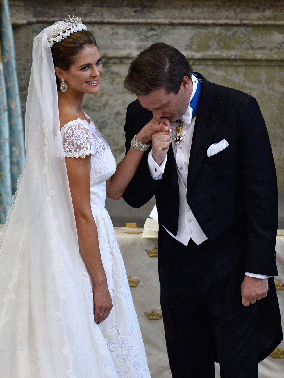 Photos Photos Europe S Tackiest And Most Tasteful Society Weddings Happen Within Four Days Royal Wedding Dress Princess Madeleine Wedding Dresses [ 1300 x 977 Pixel ]