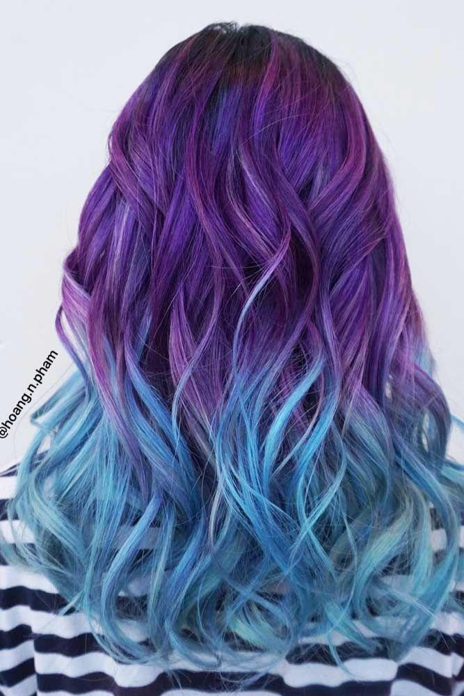 55 Fabulous Rainbow Hair Color Ideas With Images Hair Color
