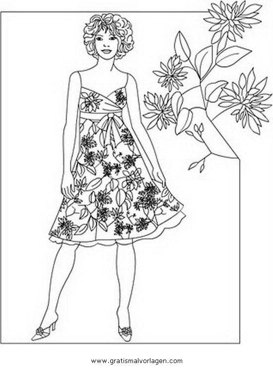 menschen/topmodel/topmodel_55.JPG | coloring 6 | Pinterest ...