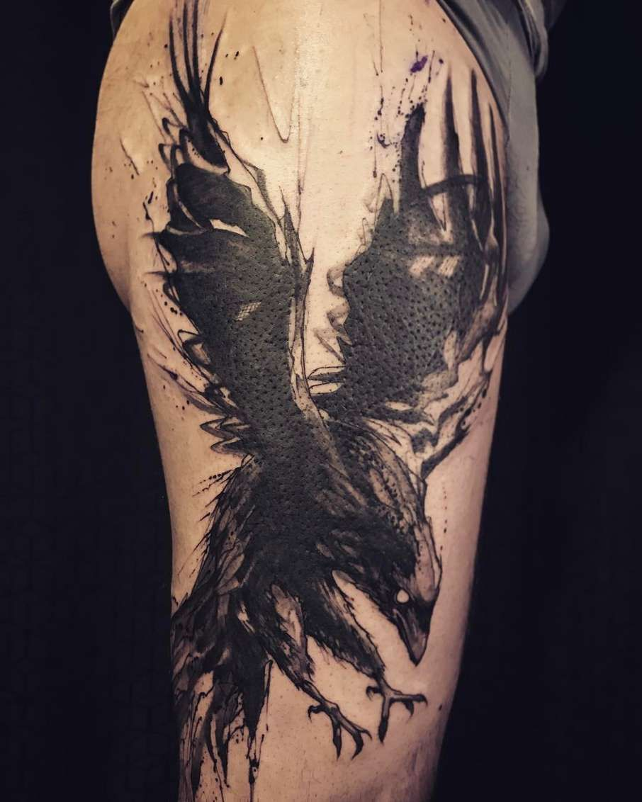 Tattoo Designs, Raven