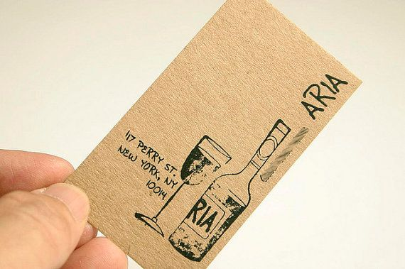 200 Business Cards Or Tags 13 Pt Brown Kraft Paper Etsy Etsy Business Cards Recycled Paper Business Cards Business Card Design
