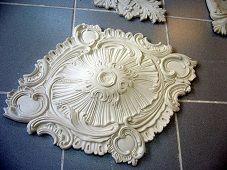 Rosaces En Staff Platre De Moulage Arme De Filasse Decoration Salon Rosace Decoration