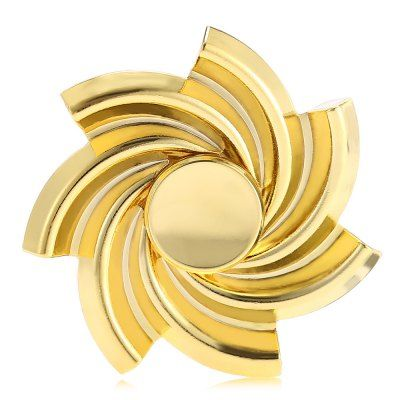 Spinning Flower Zinc Alloy ADHD Fid Spinner Funny Stress Reliever
