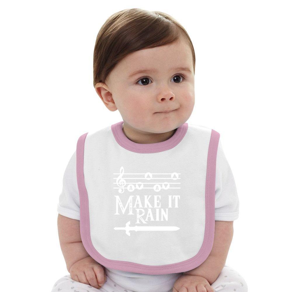 Make It Rain Baby Bib