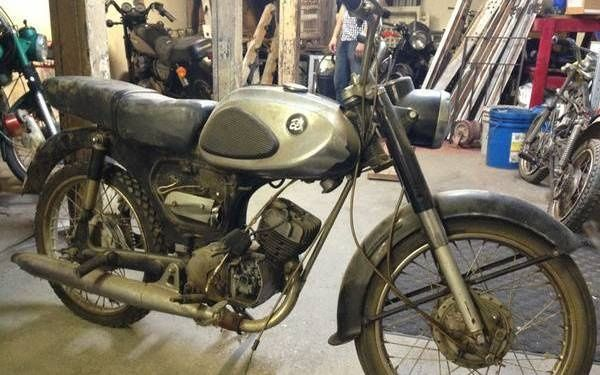 300 Bike 1965 Bridgestone Bs 90 Bridgestone Bike Motorcycle Magazine