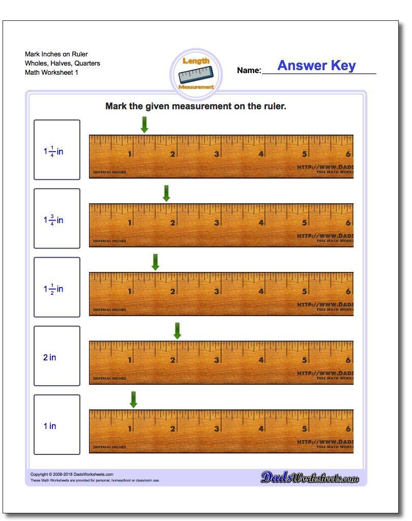 Predownload: Inches Measurement Worksheet Mark On Ruler Wholes Halves Quarters Measurement Worksheets Maths Worksheets Ks2 Math Worksheet [ 1025 x 810 Pixel ]