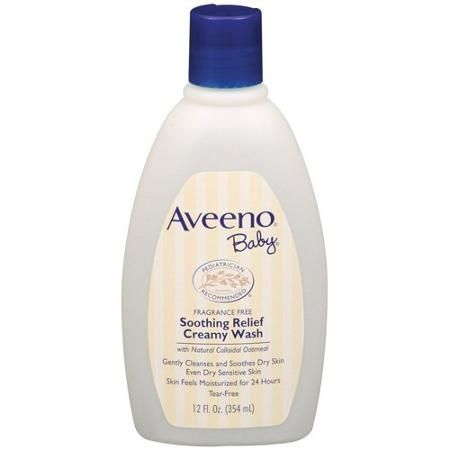 Aveeno Baby Soothing Relief Creamy Wash With Natural Oatmeal 12 Fl Oz Walmart Com In 2020 Soothing Baby Aveeno Baby Aveeno