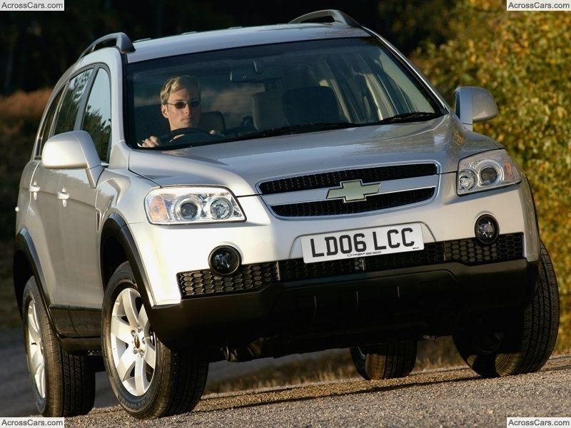 Chevrolet Captiva (2006) (With images) Chevrolet captiva