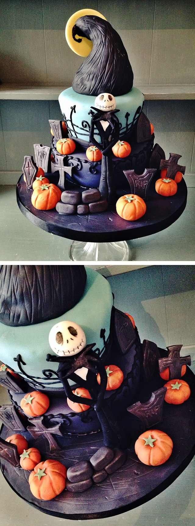 Halloween Cakes & how to make edible blood   Halloween cakes and ...