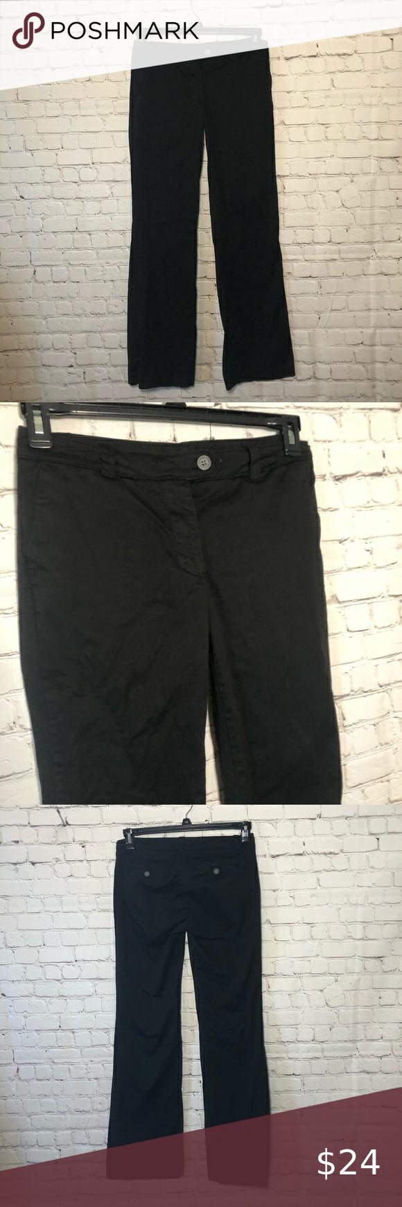 New York Co Tall Black Slacks Dress Pants Black Slacks Dress Pants Slacks [ 1740 x 580 Pixel ]