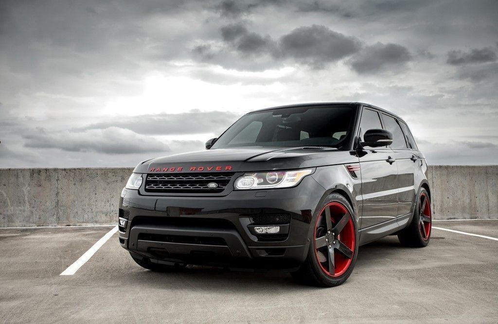 Black Range Rover Sport Wallpaper: Black Range Rover, SUV, 4k Wallpaper