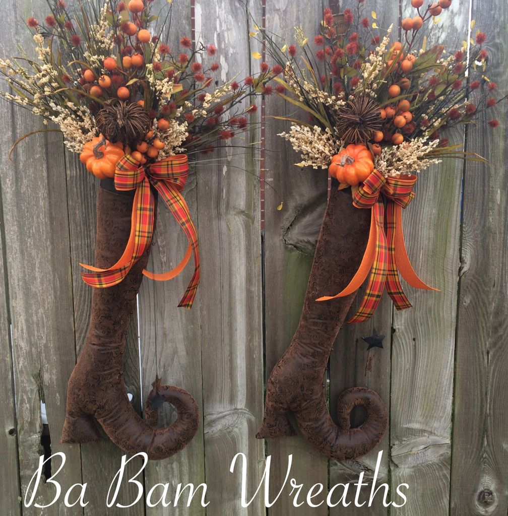 Fall Door Swags: Trendy Tree Custom Designer