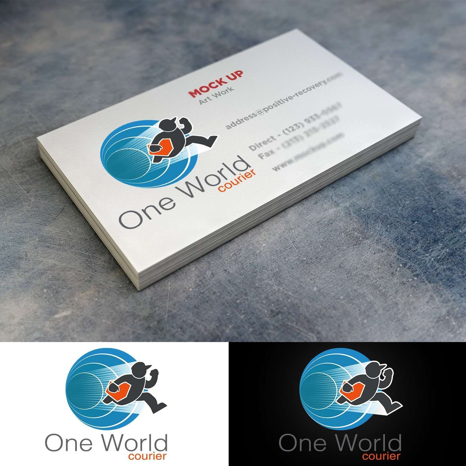 23 Mini Business Card Template Modern Personable Freight Forwarding Logo Design For One World Mini Business Card Business Card Template Folded Business Cards