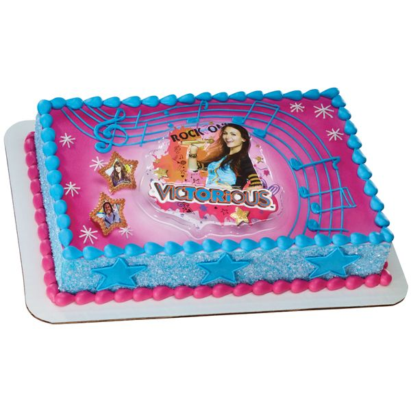 Victorious Rock On Cake via Publix Cakes the Sweetest