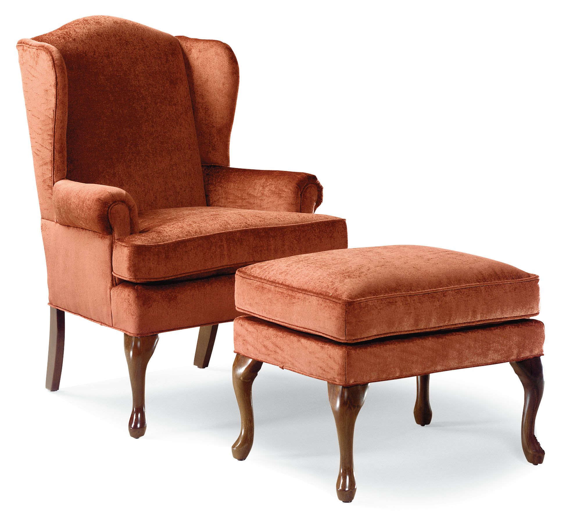 Shop For The Fairfield Chairs Wing Chair U0026 Ottoman At Stuckey Furniture    Your Mt. Pleasant, Bluffton, And Stuckey, South Carolina Furniture U0026  Mattress ...